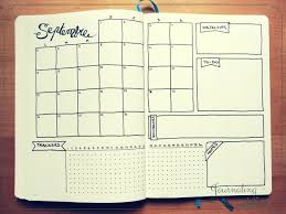 monthly log inspiration bullet journal and logs