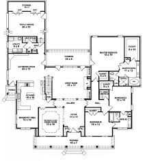 5 bedroom house plans 2 story 5 bedroom one story house plans nrtradiant