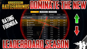 pubg rating how the leaderboard rank system works in pubg rating formula