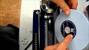 Pro Tech Bench Grinder As 2001 How To Change Grinding Wheel Youtube
