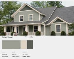 Outdoor Paint Colors by New Home Exterior Color Schemes House Paint Color Combinations