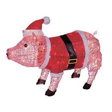 lighted dog christmas lawn ornament peaceful design christmas pig lawn ornament flying lighted chritsmas