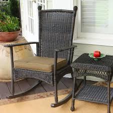 shop tortuga outdoor portside dark roast wicker patio rocking