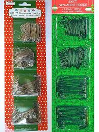 300 count ornament hooks green home kitchen