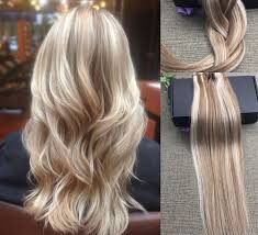 hot hair extensions 22 balayage ombre clip in remy human hair extensions golden