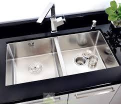 double kitchen sinks kitchen sink double best kss 522 top view home design ideas