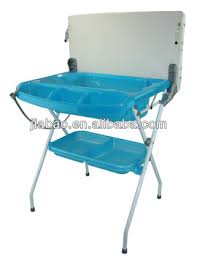 Folding Baby Changing Table Multifunction Baby Bath Changing Table With En12221 Baby Folding