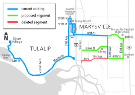 Seattle Premium Outlets Map by Community Transit Announces Plans For Service Expansions In
