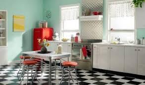 Retro Kitchen Design Retro Kitchen Design Ideas Black Granite Countertops As Well As