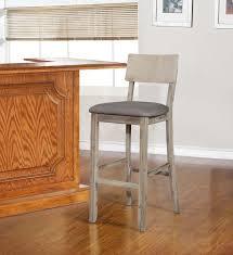linon jordan gray wash bar stool
