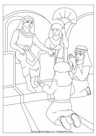 bible colouring pages
