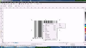 how to change barcode color in coreldraw youtube