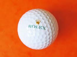 new rolex logo golf ball chrono shop
