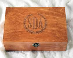 personalized wooden boxes custom wooden boxes etsy