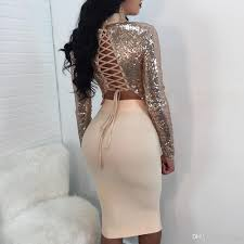 new years club dresses 2018 tie up sequins details club dresses 2018 summer
