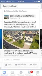 California Real Estate Market California Real Estate Market Facebook Ad Examples