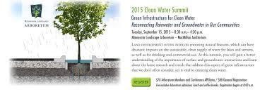 mn landscape arboretum 2015 clean water summit