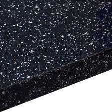 B Q Waterproof Laminate Flooring Black Stylish Kitchen Worktop Diy