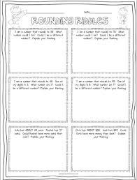 free rounding riddles 3rd grade pinterest riddles