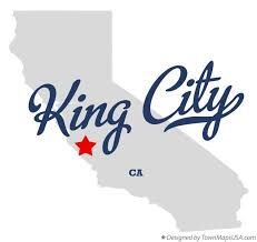 california map king city map of king city ca california