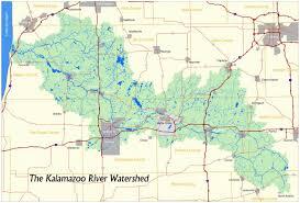 Battle Creek Michigan Map by What U0027s A Watershed Kalamazoo River Watershed Council