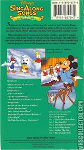 disney sing songs volume 8 merry christmas songs