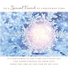 cym cards special friend christmas card from the follow your