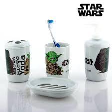 Bathroom Accessories Walmart Com by Star Wars Bathroomstar Wars Bathroom Accessories 4 Pieces Star