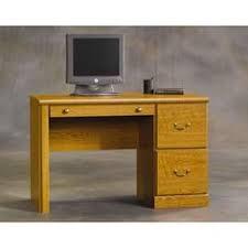 Computer Desk Sears Corliving U0027folio U0027 Seven Drawer Desk Warm Oak Sears Canada