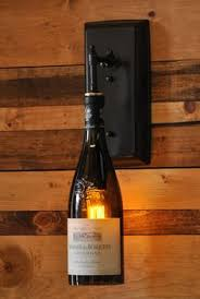 favorite bottle of wine for this is a wall sconce made from your favorite wine or liquor