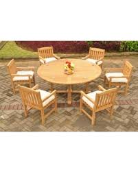 72 round outdoor dining table amazing deal teak dining set 6 seater 7 pc 72 round dining