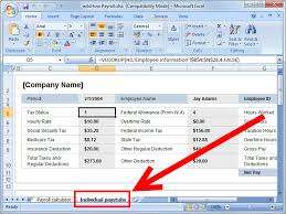 How To An Excel Template How To Prepare Payroll In Excel 5 Steps With Pictures Wikihow