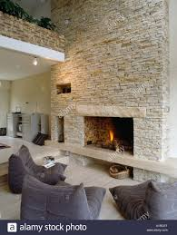 Stone Wall Living Room by Stone Wall Fireplace U2013 Fireplace Ideas Gallery Blog