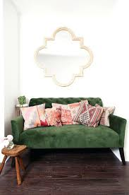 light green couch living room dark green couch large size of new velvet emerald awesome pillows