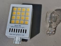 how to replace rv light bulbs and review of starlights led ls for the rv