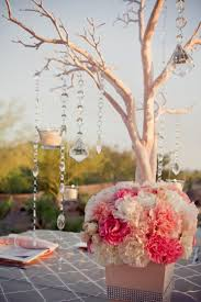 wedding reception centerpieces branches decorating of party