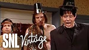thanksgiving greetings from tonto and frankenstein snl