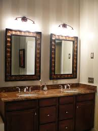 bathroom cabinets cheap large mirrors dark framed mirror