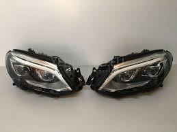 mercedes headlights mercedes benz gla x156 multibeam led headlights xenonled eu