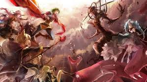 anime wallpapers girls sword fighting epic anime wallpapers wallpapersafari