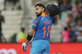 virat kohli the leading cricketer in the in 2017 wisden india