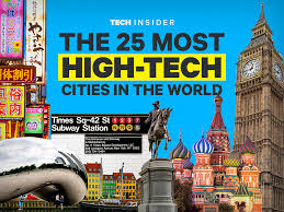 Hi Tech House The Most High Tech Cities In The World Business Insider