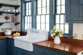 Blue Kitchen Sinks 30 Reinhard Fireclay Farmhouse Sink Sapphire Blue Kitchen 30