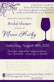 wine themed bridal shower invitations marialonghi