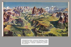 Dolomites Italy Map by Composite Of Text Caption And Map Xx Groedental Dolomites