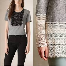 Muito Coisas de mulher cristã : Ideias para customizar roupa com renda e  #KH27