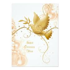 Catholic Wedding Invitations Dove N Swirls Catholic Wedding U003e U003e Wedding Invitations