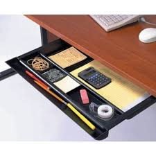 Desk Compartments Broadened Horizons Direct Wide Storage Drawer For Under Center