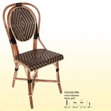 Woven Bistro Chairs Best Rattan Bistro Chairs 2008 High U0026 Low Apartment Therapy
