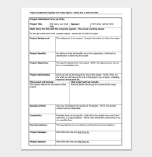 project list template 4 for word doc u0026 pdf format